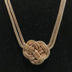 Jewelry - Gold Knot Necklace